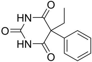 Phenobarbital Structure